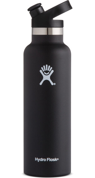 Hydro Flask Standard Mouth Sport Bottle 21oz (621ml) Black